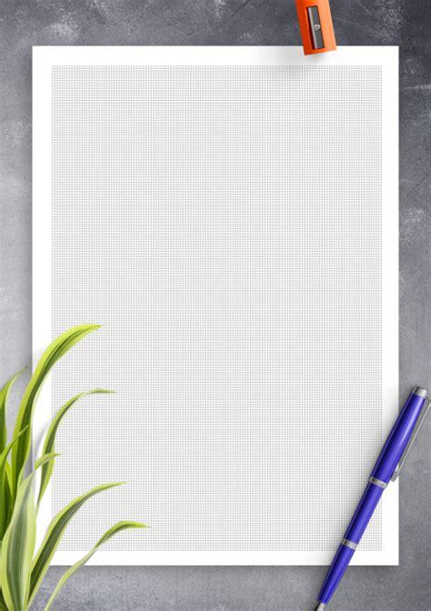 printable  cm grid paper printable blue