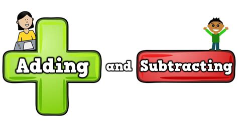 adding  subtracting song  kids  addition