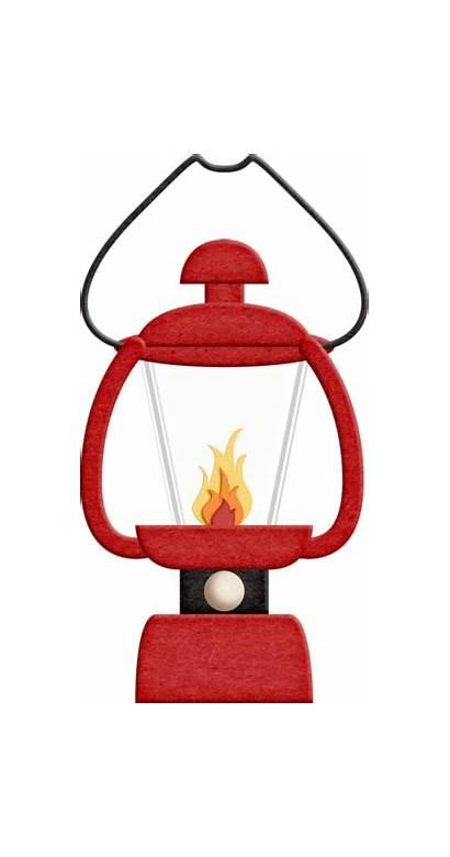 Lantern Camping Clipart Camp Lamp Clip Paper