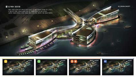 Floating Marina Club, Korea, Han River Building - e-architect