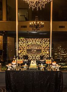 Event Stylist - Great Gatsby birthday party - Style My