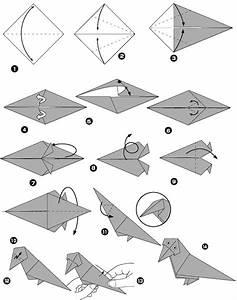 Comment Faire Un Oiseau En Papier : corbeau en origami ~ Melissatoandfro.com Idées de Décoration