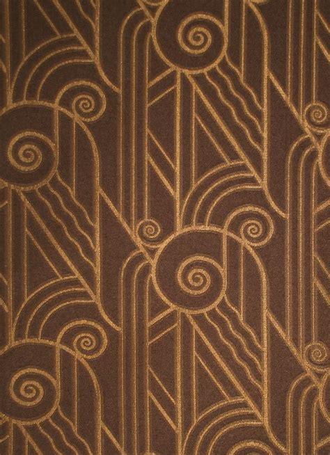 bradbury art deco fabric  upholstery  drapery