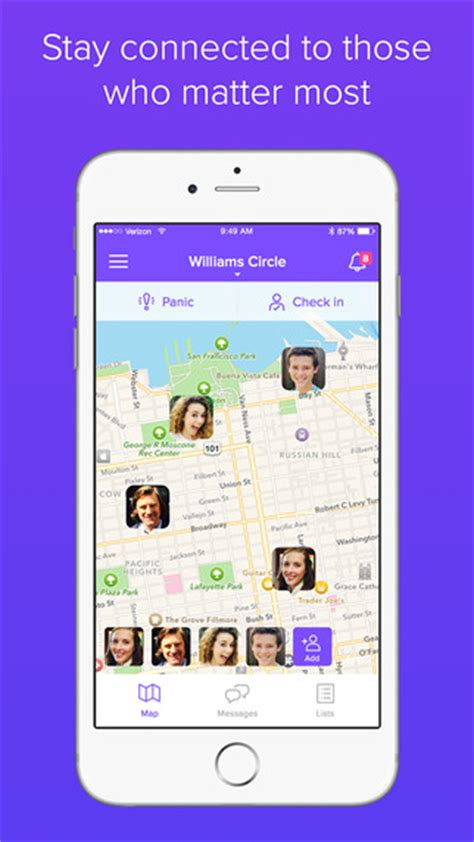 life360 iphone life360 family locator messaging and more on the app