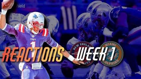Patriots Game Recap | Patriots Beat Dolphins 21-11 in 1st ...