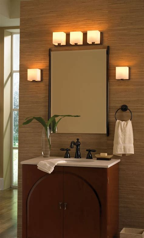 retro bathroom vanity lighting ideas
