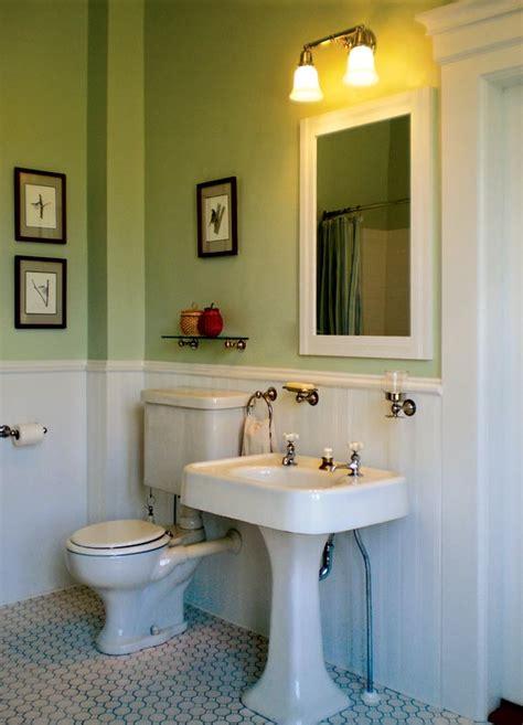 baths  simple restoration design   vintage