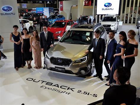 Motor Image Launches Subaru Outback & Xv With Eyesight At