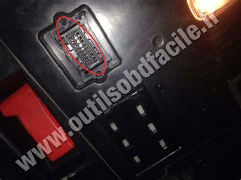 obd connector location  mercedes  class