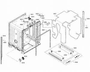 Bosch Model She3ar55uc  07 Dishwasher Genuine Parts