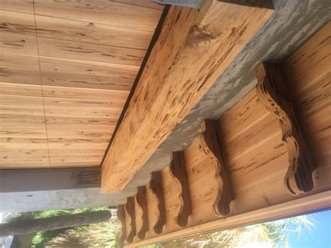 Cypress Corbels by Florida Cypress Wood Products Inc Pecky Cypress