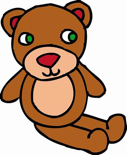 Teddy Bear Clip Clipart Toy Brown Bears