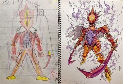 Pai Transforma Desenhos Dos Filhos Em Incríveis
