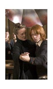Ron dancing with Professor McGonagall from the Goblet of ...