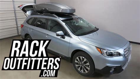 subaru outback wagon  thule motion xt xl  cf roof