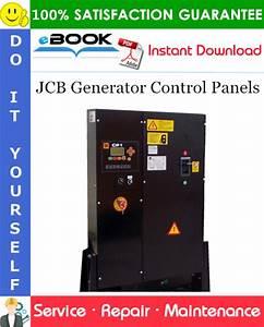 Best  U2606 U2606 Jcb Generator Control Panels Service Repair Manual