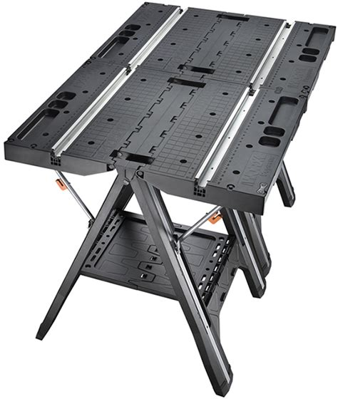 worx pegasus folding work worx pegasus folding work table has cls and a sawhorse mode