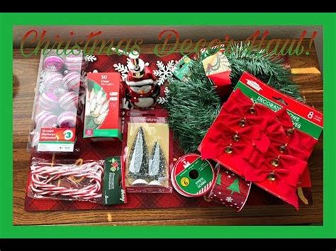dollar tree christmas haul 2018 mini haul dollar tree family dollar 2018