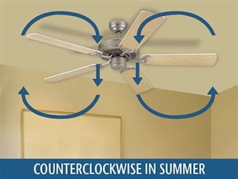 ceiling fan not cooling it might be spinning backwards