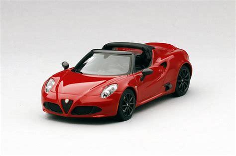 Tsm Model 1/43 Alfa Romeo 4c Spider Concept 2014 Rosso
