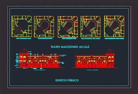 Teatro Macedonio Alcalá DWG Block for AutoCAD ? Designs CAD
