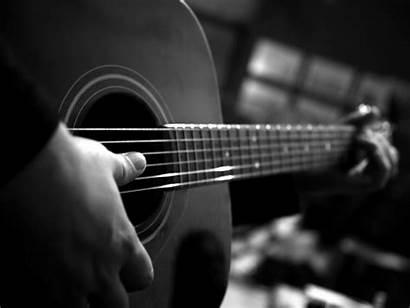 Monochrome 4k Guitar Playing Standard Wallpapers Bestwallpapers