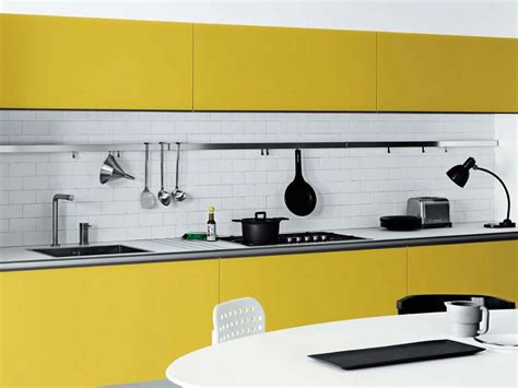 bloombety modern kitchen color schemes with pink mat cool white and yellow kitchen design vetronica by meson