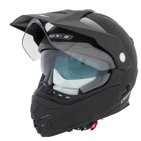 motocross helmet visor spada intrepid plain enduro off road motocross motorcycle