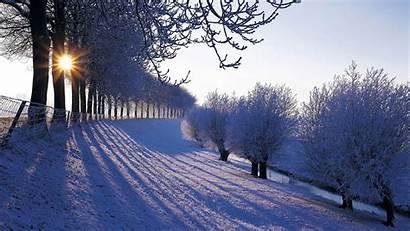 Winter Beauty Nature Wallpapers Desktop Natural Season