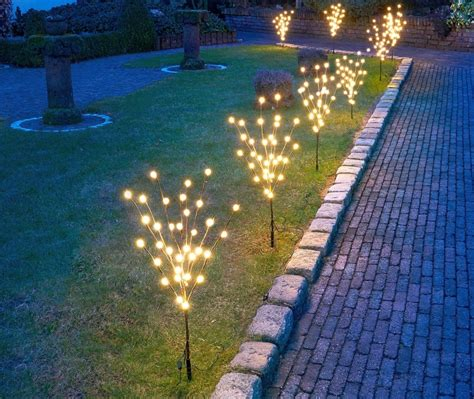 mini trees with led lights brings and festivity to