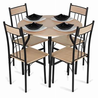 Table Dining Chairs Transparent Clipart Background Chair