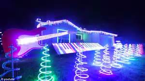 programming christmas lights wars themed light show by tom betgeorge outshines other festive displays daily mail
