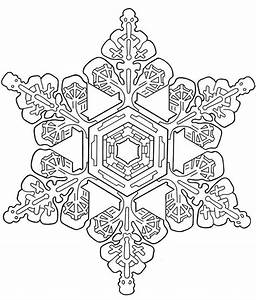 Christmas Coloring Pages Snowflakes - AZ Coloring Pages