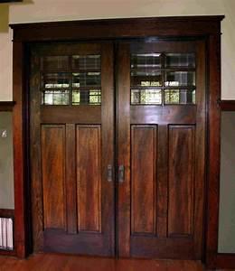 Craftsman pocket doorlove love love ikea decora for Craftsman bathroom pocket doors