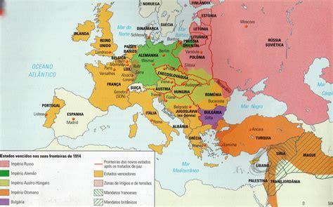 Mapa Da Europa Em Portugues