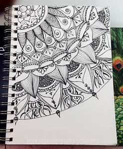 Sketchbook : Open Composition Mandalas - kitskorner