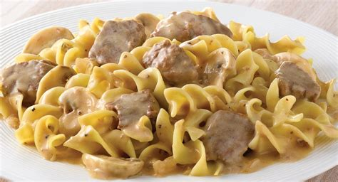beef stroganoff beef stroganoff with butter noodles recipe dishmaps