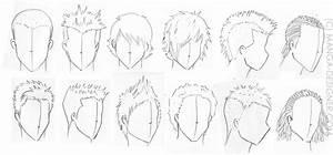 Coiffure Manga Garçon : les cheveux pistes d id es manga ~ Medecine-chirurgie-esthetiques.com Avis de Voitures