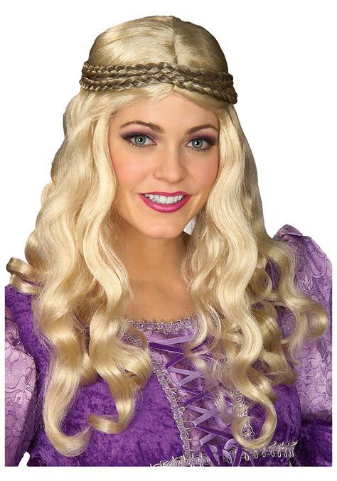blond renaissance wig renaissance wigs  women