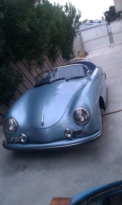 1957 Porsche Speedster Replica by 1957 Porsche Speedster Replica Beck Classic Replica Kit