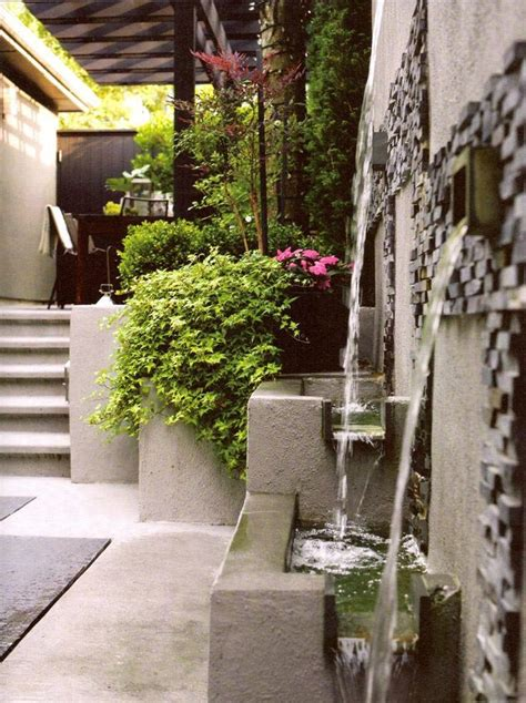 Backyard Wall Fountains  Fountain Design Ideas