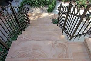 Fliesen Für Außentreppe : natursteintreppen steintreppe treppe granit marmor treppen granit treppe naturstein berlin ~ Frokenaadalensverden.com Haus und Dekorationen