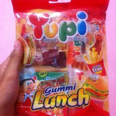 Yupi Gummy Candies Sour gummy candies yupi lunch pizza burger hotdog cola