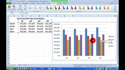 draw  simple bar chart  excel  youtube