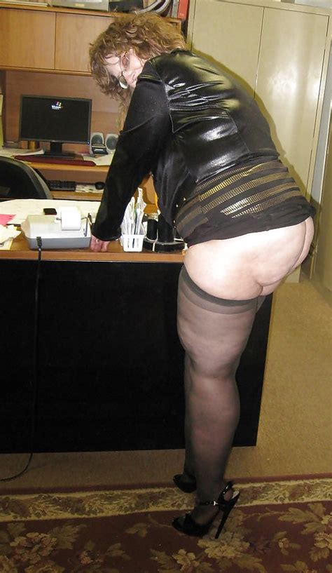 Tanya Stockings Heels Nylons Granny 7 Pics Xhamster