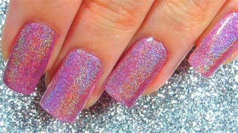Holo Pink Holographic Nail Polish Born Pretty Review