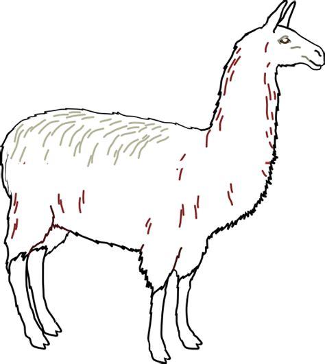 Llama Clip Art Free