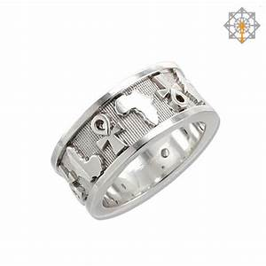 Ankh and africa map wedding band by studio of ptah for Ankh wedding rings