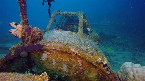japanese aircraft wrecks  chuuk truk lagoon august