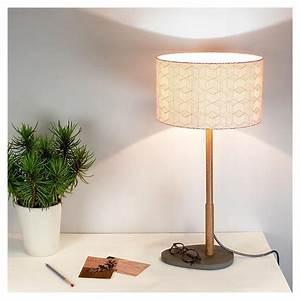 Lampe à Poser Originale : lampe poser pied bois helios par reine m re ~ Dailycaller-alerts.com Idées de Décoration